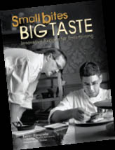 Published by Marshall Cavendish, Small Bites, Big Taste is on book shelves now. The entertaining cookbook features more than 80 creative recipes breathing life into a collection of exciting, contemporary dishes.