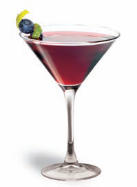 Sourberry Martini
