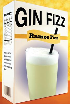 Tony Abou-Ganim - The Modern Mixologist - in the Mix Magazine - Gin Fizz - Ramos Fizz