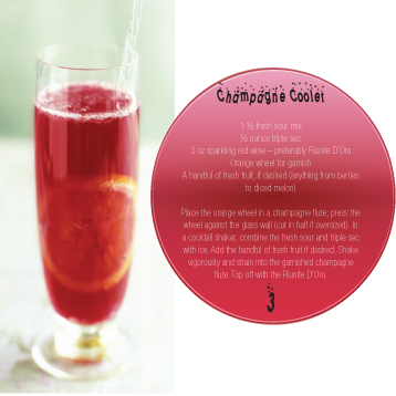in the Mix - Champagne Cooler