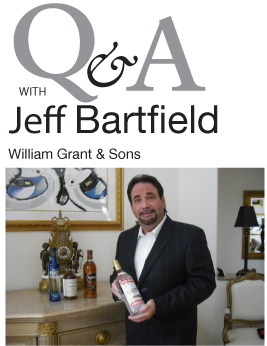 Jeff Bartfield of William Grant & Sons for in the Mix Magazine