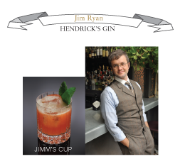 Jim Ryan - William Grant & Sons Brand Ambassador