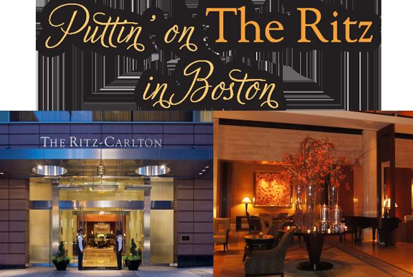 in the Mix Magazine - The Ritz Carlton Boston