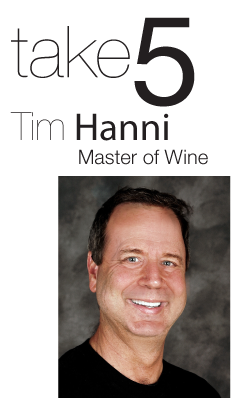 Take 5 - Tim Hanni - Master of Wine - in the Mix Magazine