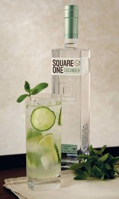 Going Green By Gina Chersevani, Mixologist, Washington DC - Square One Organic Cucumber Vodka