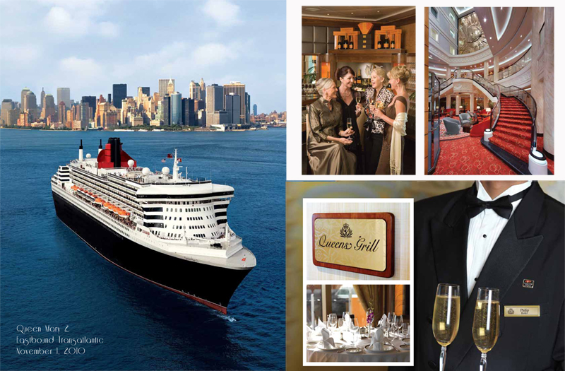 Queen Mary 2 - Eastbound Transatlantic Cruise