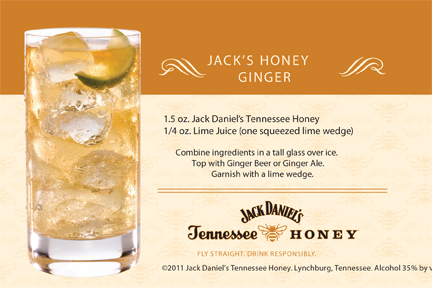Jack Daniel's Tennessee Honey Ginger