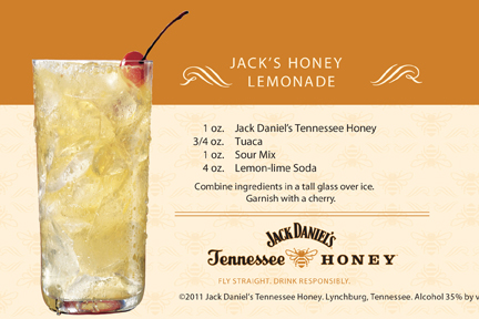 jack daniels tennessee honey drink promotions male