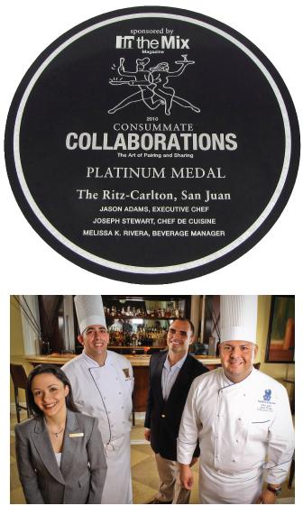 The Ritz-Carlton, San Juan - Consummate Collaborations Winner Plaque