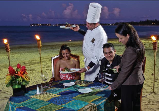 The Ocean bar and Grill - The Ritz-Carlton, San Juan - Consummate Collaborations Winner