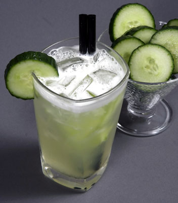 Tipple Tuesday - Cucumber Collins - Joey Scorza