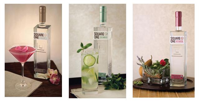 in the Mix Magazine - Vodka Tasting - Square One Organic Vodka, Square One Cucumber, Square One Botanical