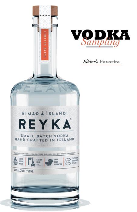 in the Mix Magazine - Vodka Tasting - Reyka