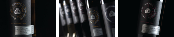 Wente Vineyards - Cunard Label - Cabernet, Chardonnay