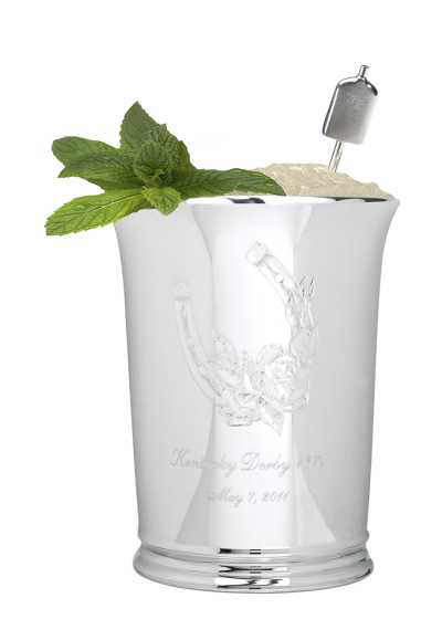 World's Most Expensive Mint Julep Cup for the Derby by Tiffany