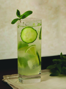 Skinny Cocktails - Square One Cucumber Vodka