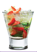 Strawberry Mojito  Summer Drinks - Brittany Chardin - in the Mix Magazine