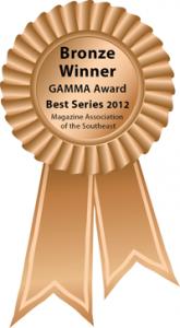 bronze gamma award winner 2012