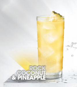 Bacardi Rock Coconut and Pineapple