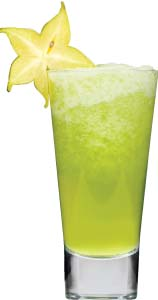 Rum Cocktail - The Green Swizzle - Brittany Chardin