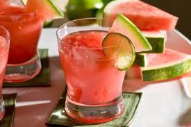 Monin Watermelon Margarita with Patron Silver / Ocean Spray / Finest Call