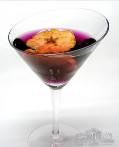 Apple Sangria Martini -  Emilio Tiburcio