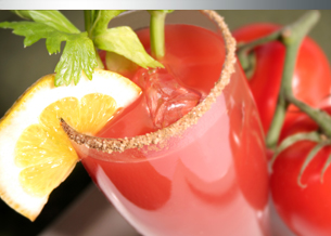 Daily's Thick and Spicy Bloody Mary Mix and Hangar One Chipotle Vodka