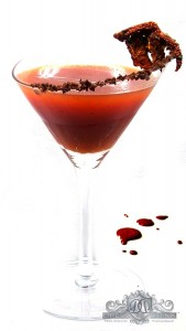 Halloween Cocktail Recipes - Scary Mary - by Dress the Drink