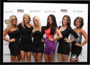 Maxim Models - Masters Golf Tournament - Kru Vodka