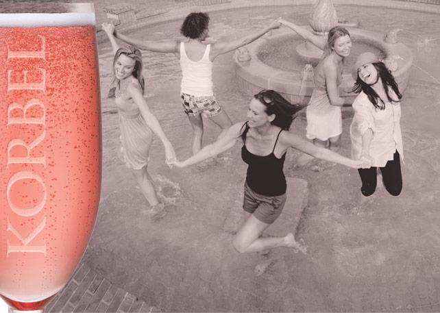 Korbel - Toast Life - Breast Cancer Awareness Month