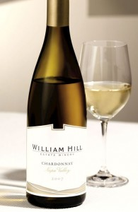 Chardonnay, William Hill Napa Valley - Thanksgiving food and wine pairings