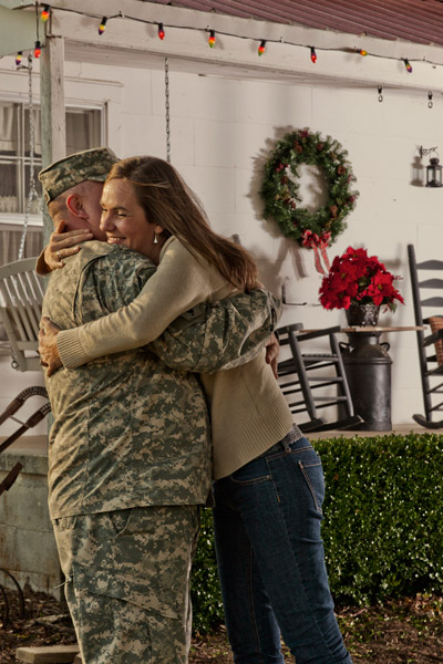 supporting the troops - home for the holidays