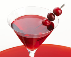 festive cranberry cocktail - tito's vodka - seasonal recipes