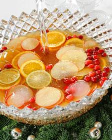 Christmas Rum Punch - Martha Stewart