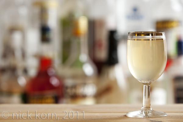 Ginger Apple Blossom cocktail recipe