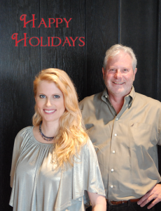 in the mix magazine - happy holidays - kester cockrell & mike raven