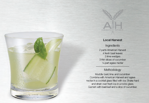 local harvest cocktail recipe with american harvest vodka