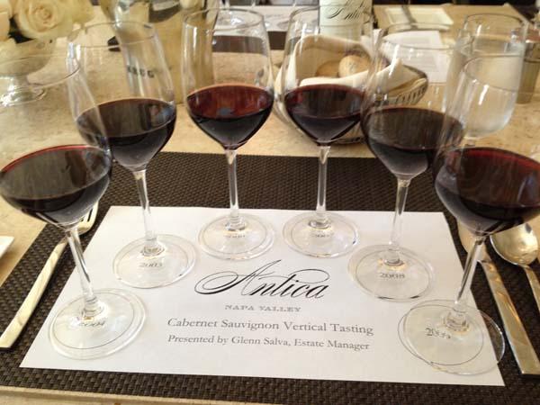 Antica napa valley wine tasting