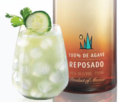 Mercadito Cocktail with Milagro Reposado Tequila