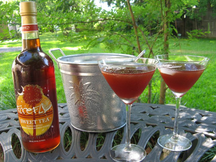 Tipple times sweeten your summer in the mix magazine for Tea infused vodka cocktails
