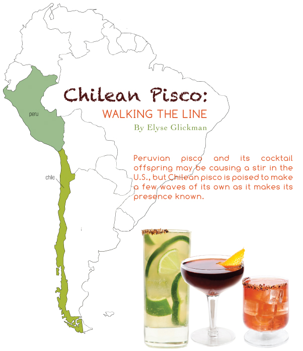 chilean pisco by elyse glickman