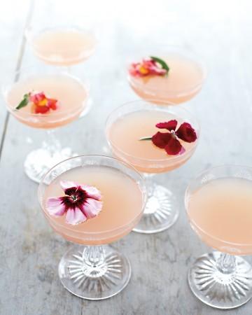 lillet rose wine cocktails by martha stewart
