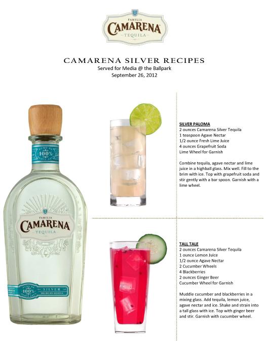 Camarena Tequila Cocktail Recipes