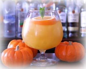 jack o'lantern potion halloween cocktail recipe with bacardi