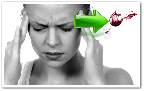 wine headache from sulfites