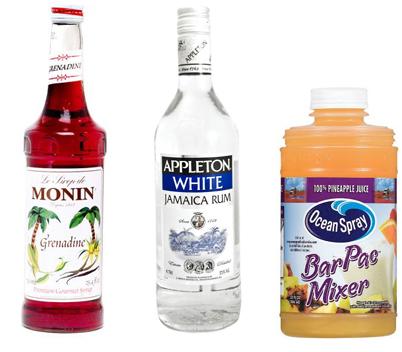 mary pickford cocktail recipe - prohibition era