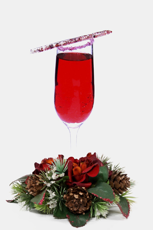 holiday / christmas cocktail recipes with Fizz 56 Sparkling Brachetto Spumante and pama