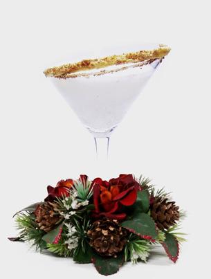 holiday / christmas cocktail recipe with stoli vanil vodka and . Tullamore Dew Irish Whiskey