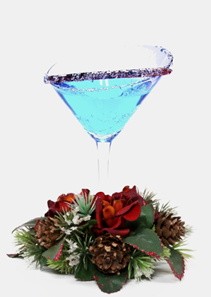 holiday / christmas cocktail recipe with smirnoff vodka and cointreau