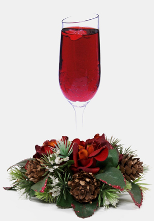 holiday / christmas cocktail recipes with Fizz 56 Sparkling Brachetto Spumante and Herring Cherry Liqueur